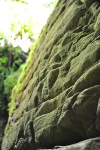 Le pareti in Calcare