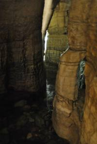 Il fiume che scorre nella Grotta!!