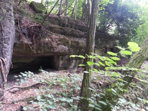 Cava di cote - i giacigli scavati nella roccia